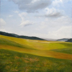 Meadow - Oil Painting on Canvas by artist Darko Topalski