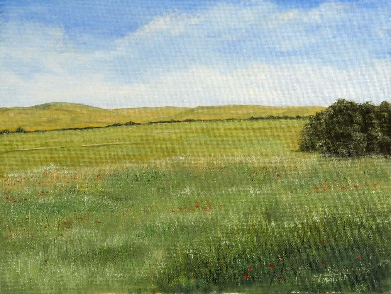 Meadows oil painting fine arts gallery original fine for The meado