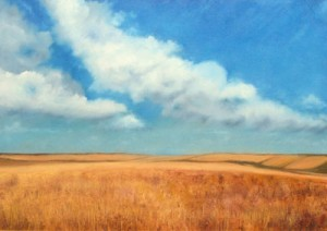 Plain - Oil Painting on Canvas by artist Darko Topalski