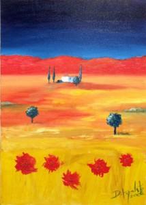 Rhapsody - Oil Painting on Canvas by artist Darko Topalski