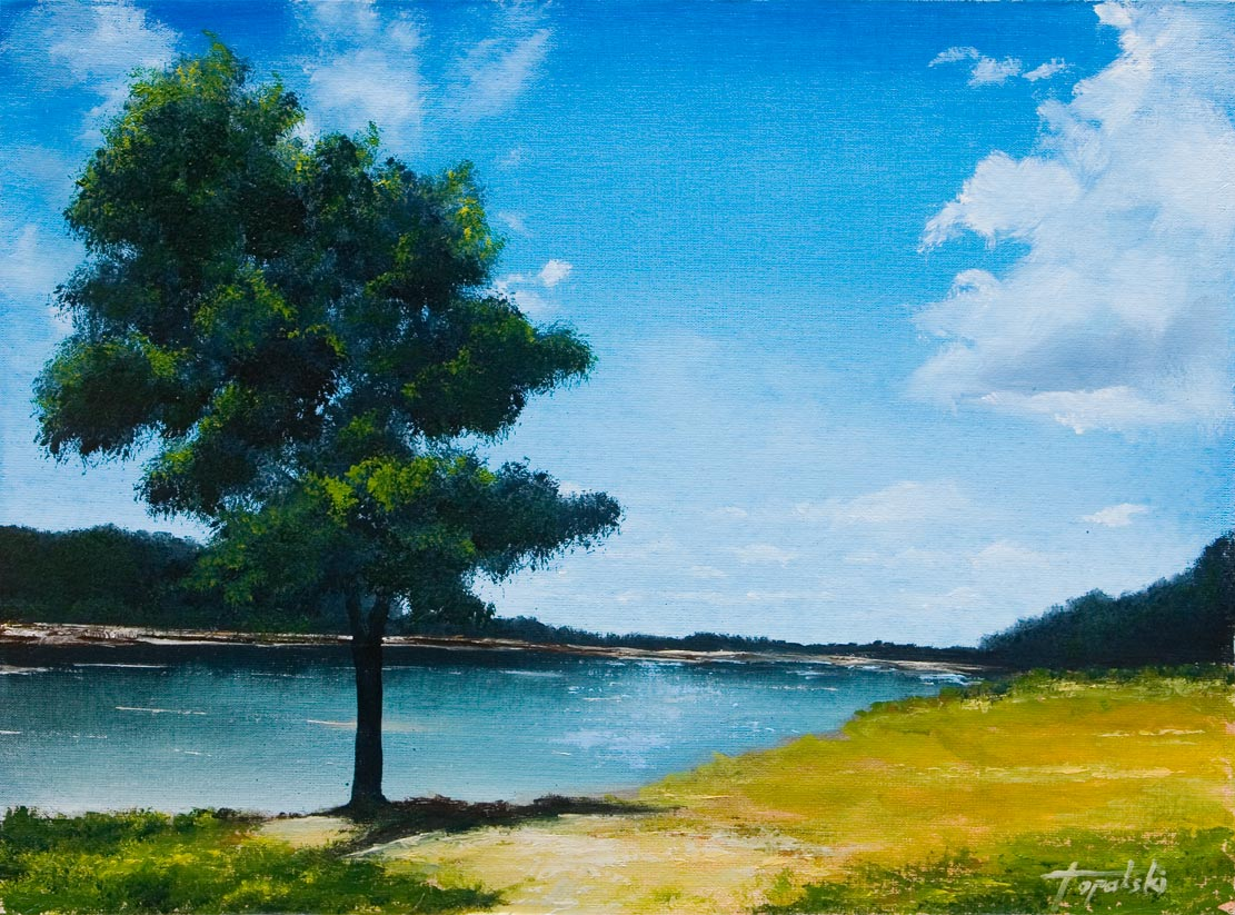 Landscape – Oil Painting  Fine Arts Gallery  Original fine Art Oil