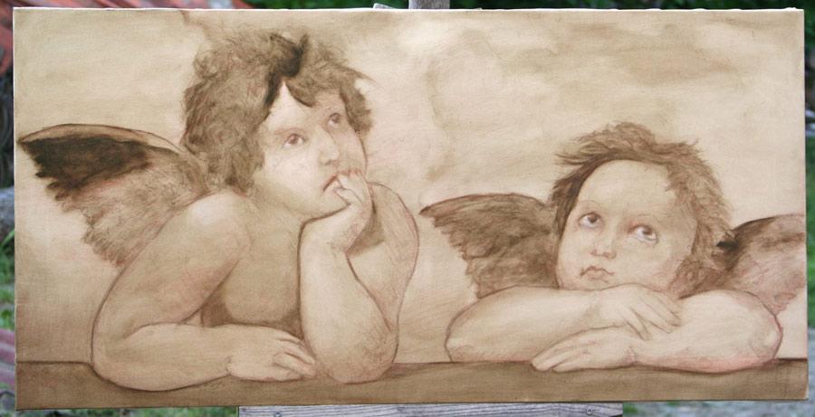 Finished Raphaels Angels