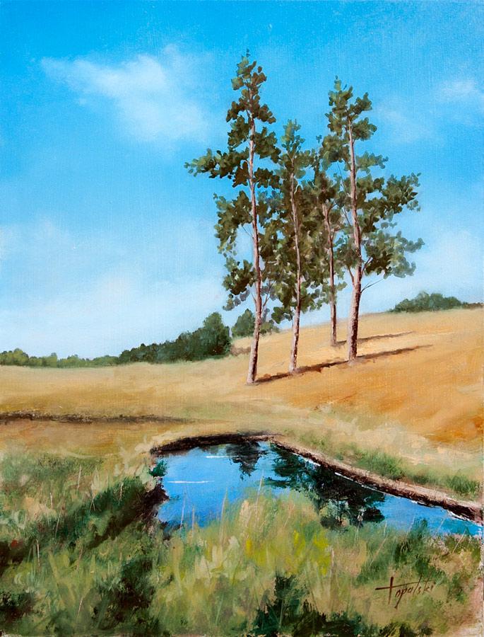 Serbia – Zlatibor – Oil Painting | Fine Arts Gallery ...