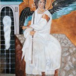 Beli Andjeo (White Angel) – Oil painting