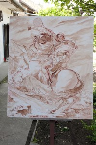 Nole Napoleone-burnt umber layer-by topalski