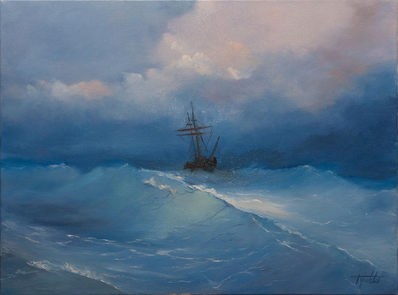 Sailing Oil Painting Fine Arts Gallery Original Fine